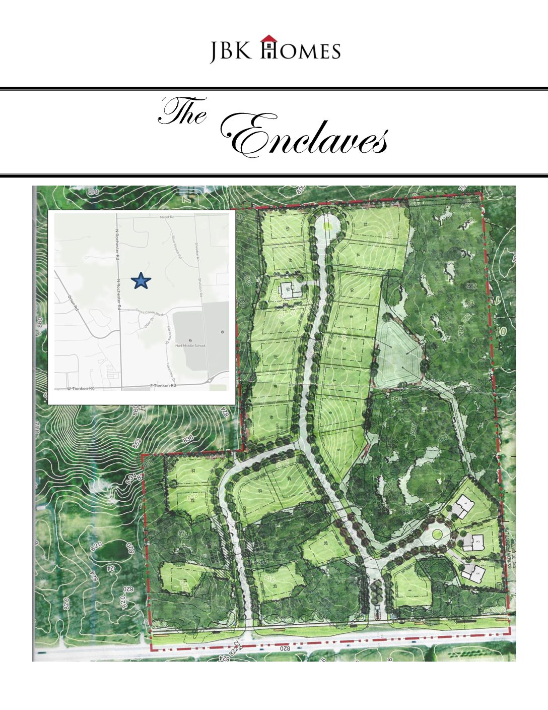 Rochester Enclaves_Site Plan